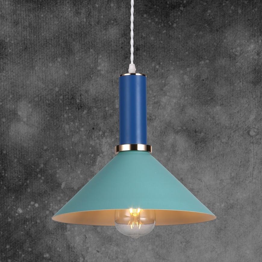 Люстра в стиле лофт 7529515 BLUE-INDIGO