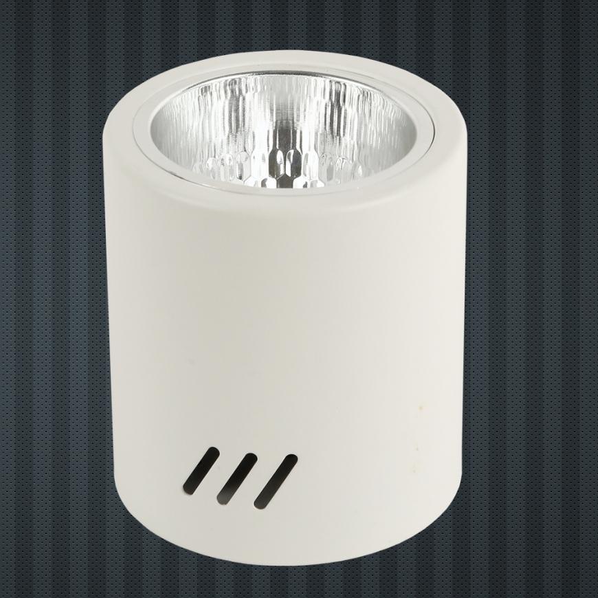 Накладной не поворотный светильник 90635-E27 WH