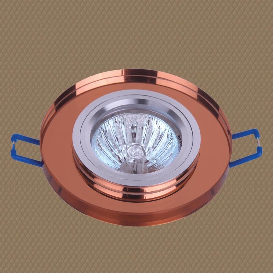 Точечный врезной светильник 705019