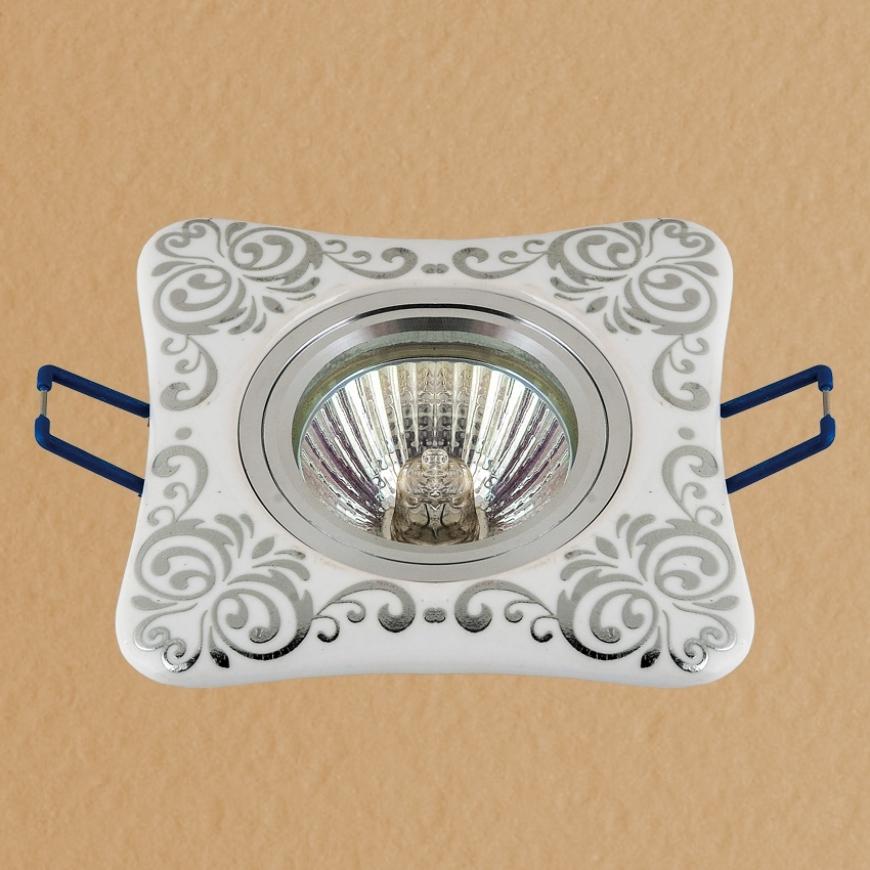 Точечный врезной светильник 70595 CR