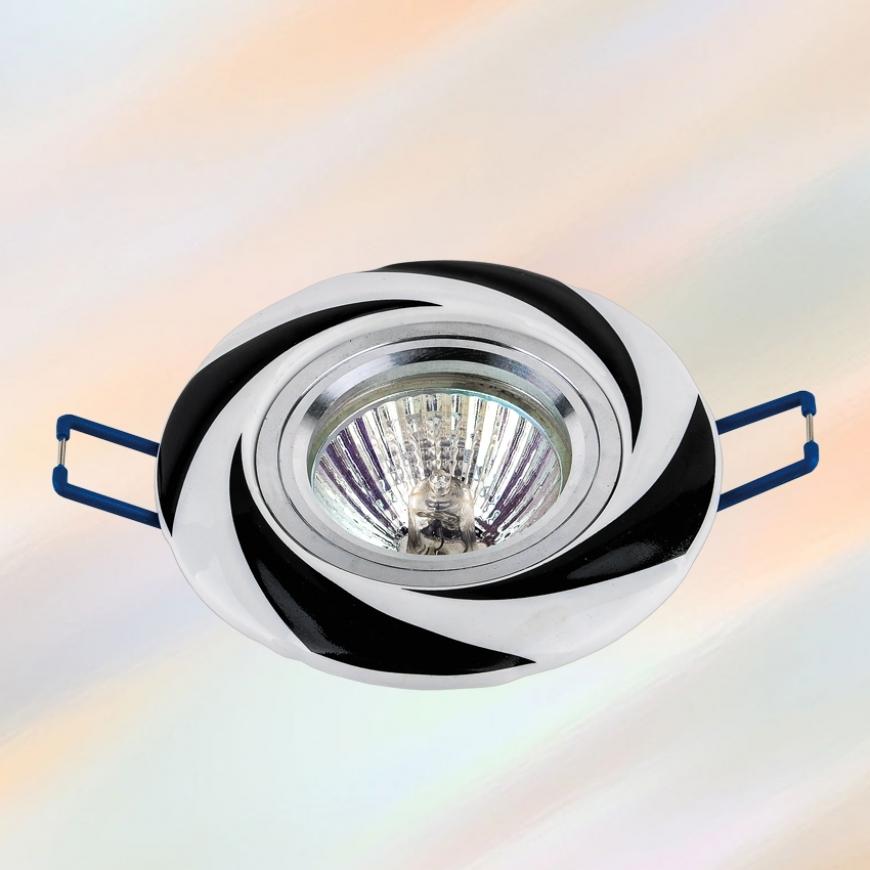 Точечный врезной светильник 70596 BK