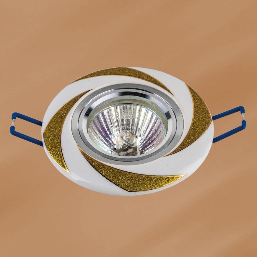 Точечный врезной светильник 70596 GD