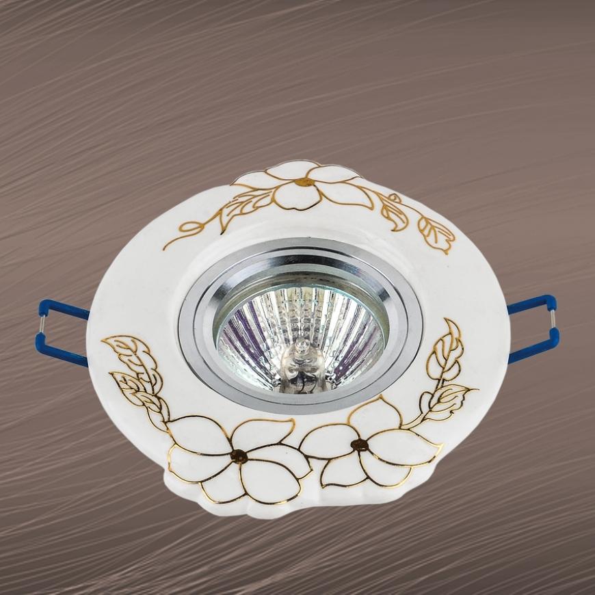 Точечный врезной светильник 70599 GD