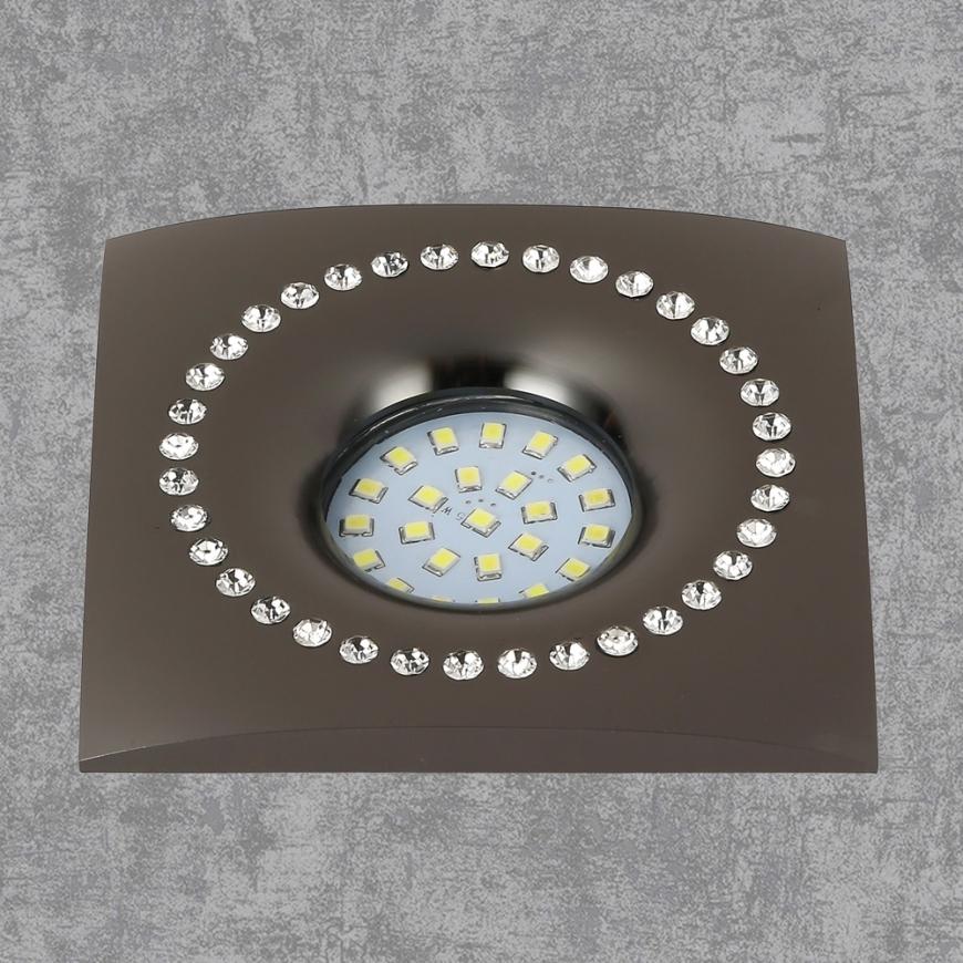 Точечный врезной светильник 716MKD-C26F BK