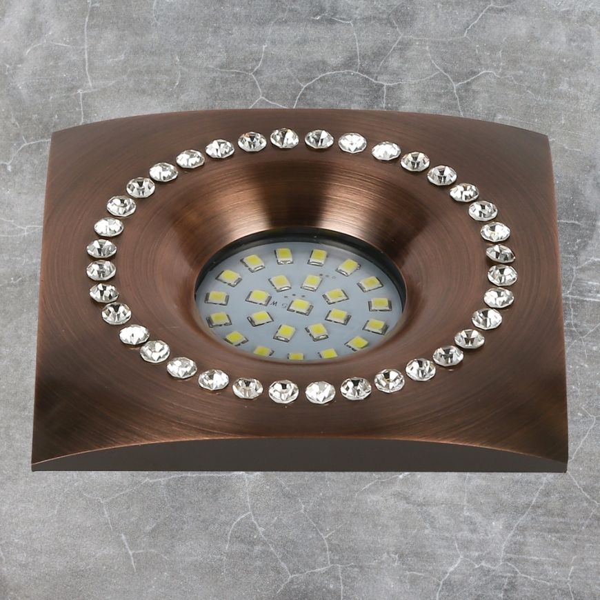 Точечный врезной светильник 716MKD-C26F GT