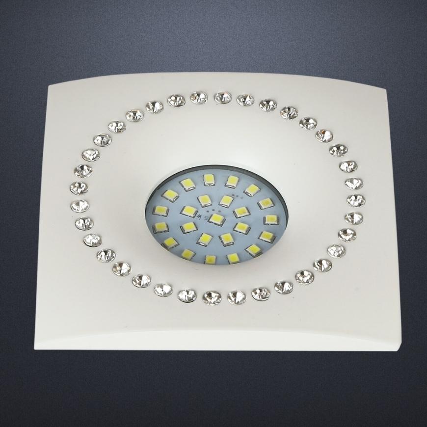 Точечный врезной светильник 716MKD-C26F WH