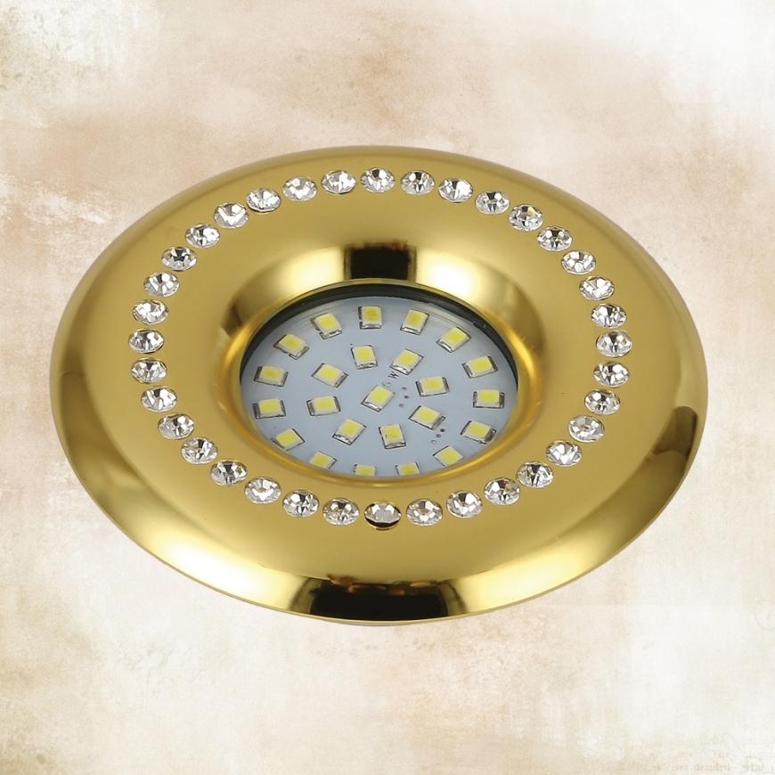 Точечный врезной светильник 716MKD-C26Y GD