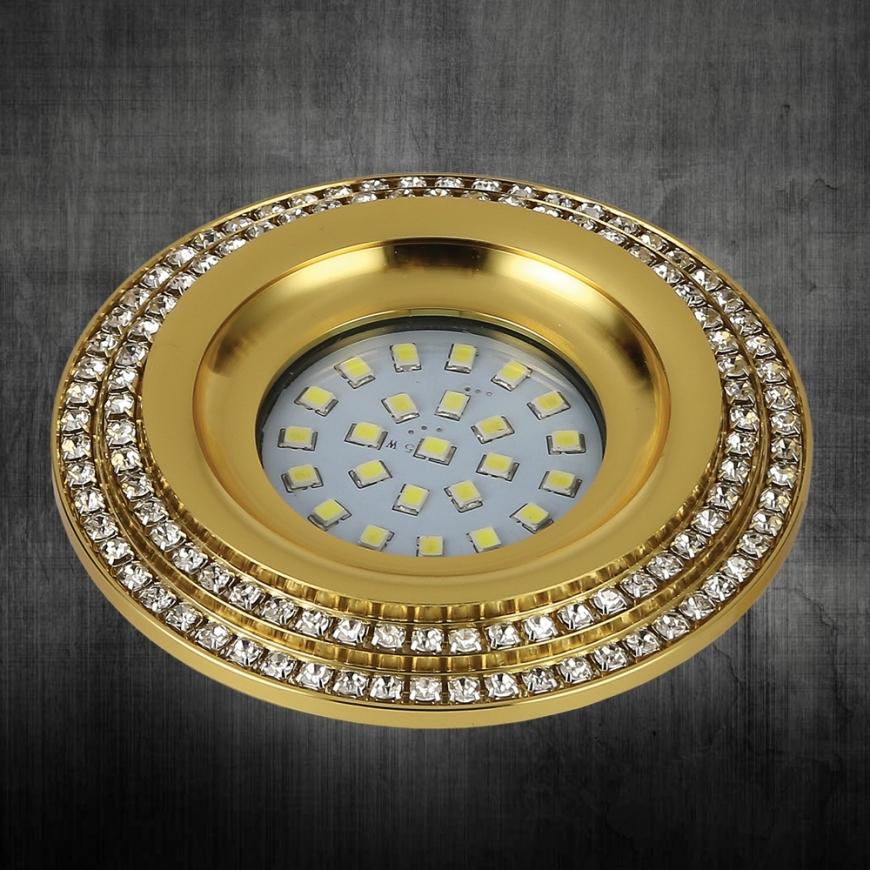 Точечный врезной светильник 716MKD-C28F GD