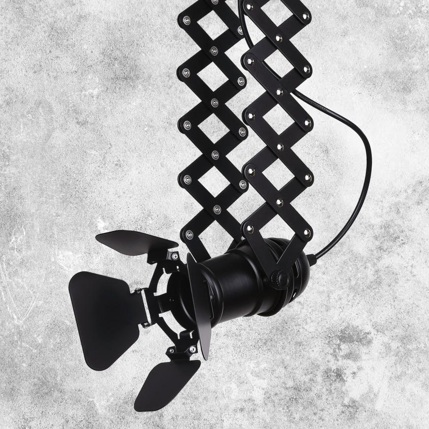 Прожектор на треке в стиле лофт 75224 BK (трек)