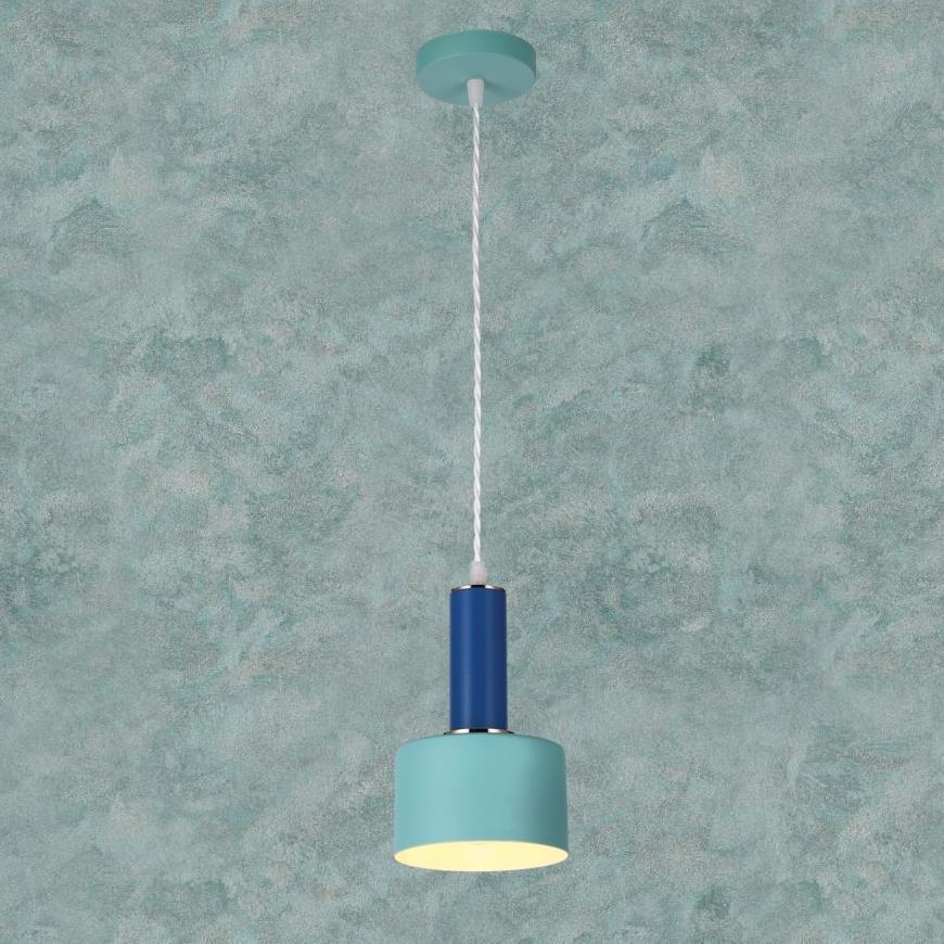 Люстра в стиле лофт 7529517 BLUE-INDIGO