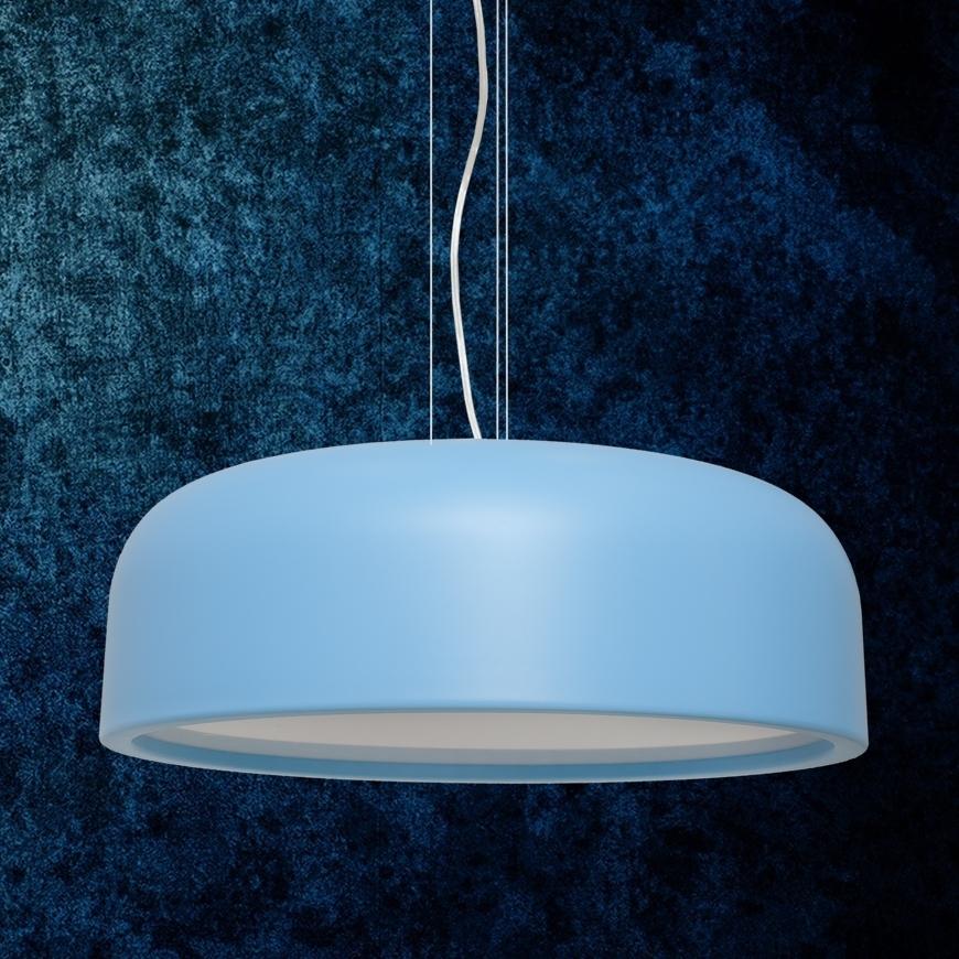 Люстра в стиле лофт 7529518-3 BLUE