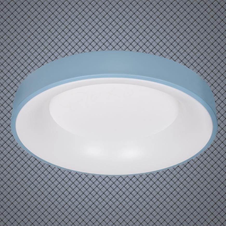 LED люстра 752L58 BLUE