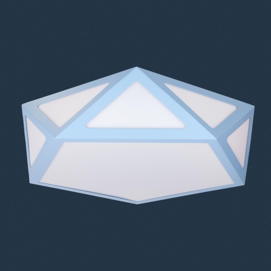 LED люстра 752L66 BLUE