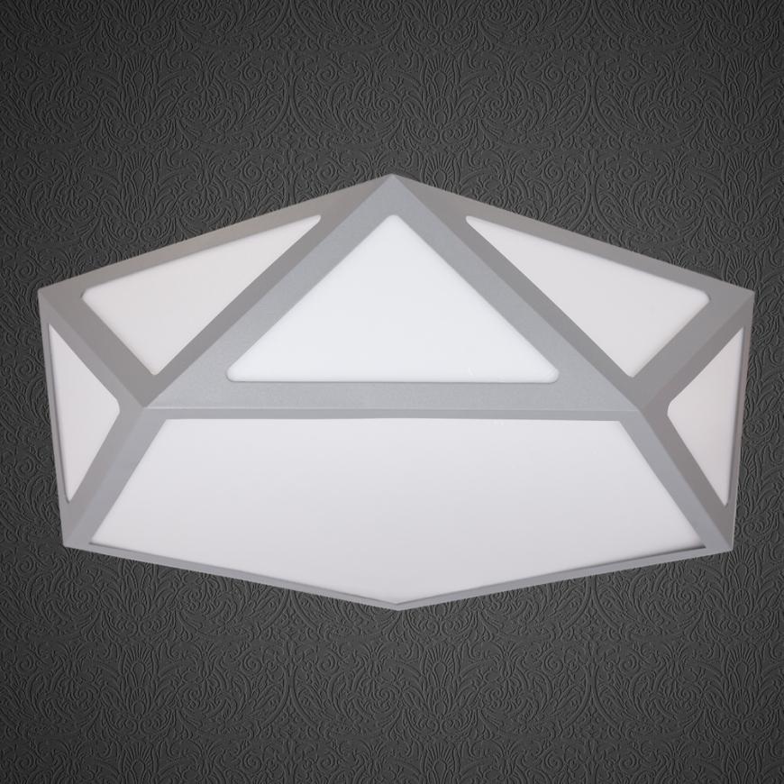 LED люстра 752L66 GRAY