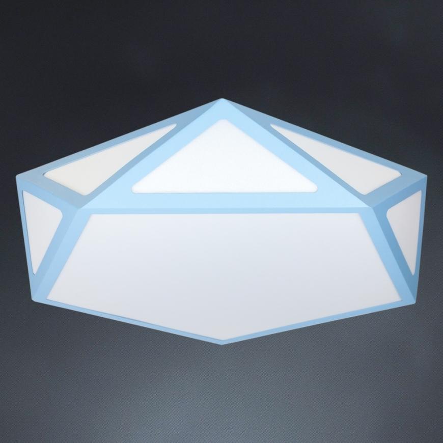 LED люстра 752L67 BLUE