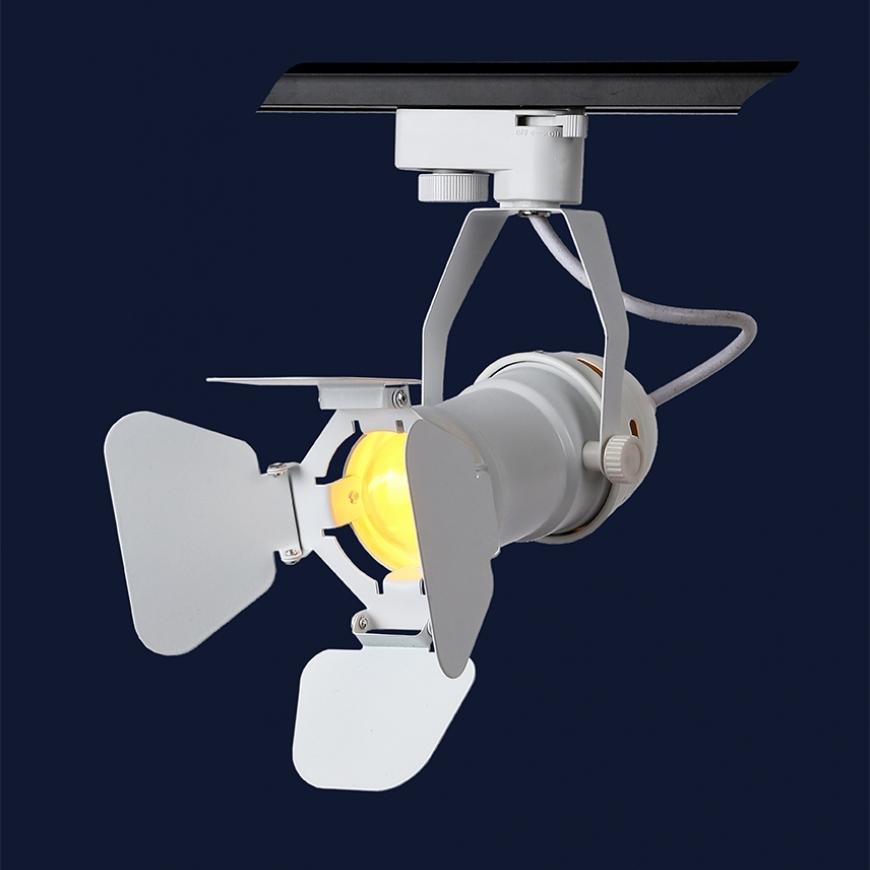 Прожектор на треке в стиле лофт 761GD01-1 WH