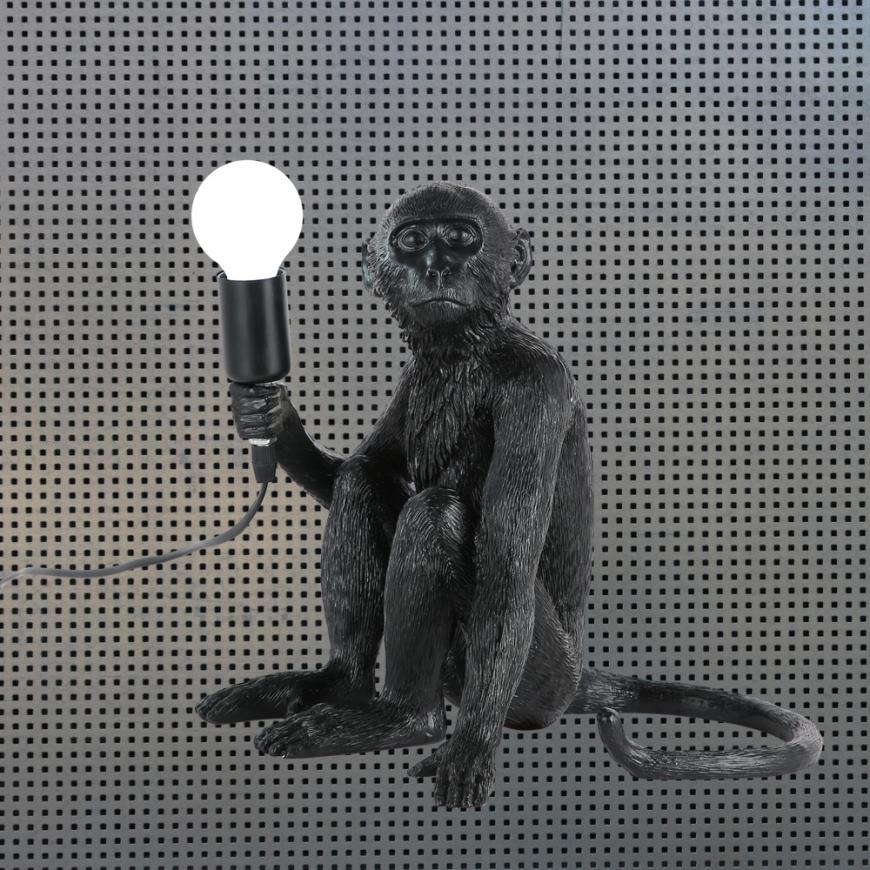 Настольный светильник в стиле лофт 909VXL8051B BK