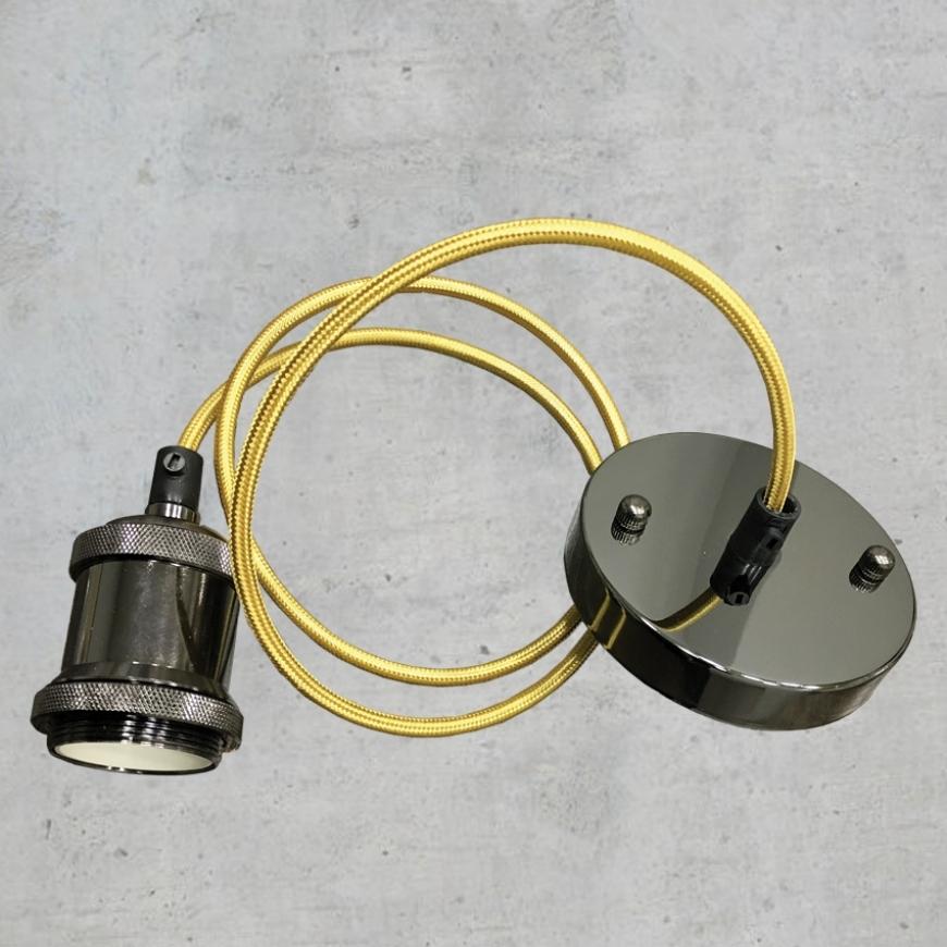 Патрон со шнуром и основанием AMP11002-1